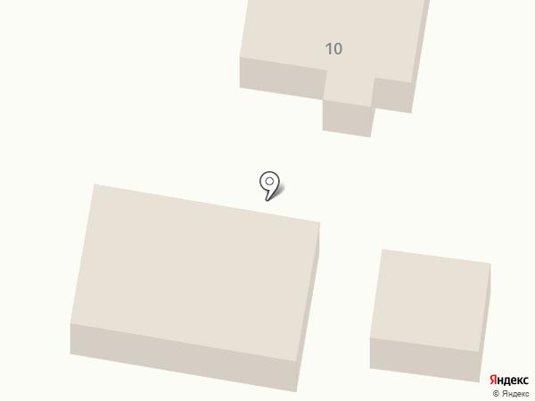 Магазин продуктов на карте Мирного