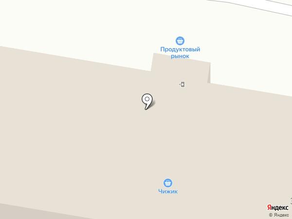 Пеликан на карте Мирного