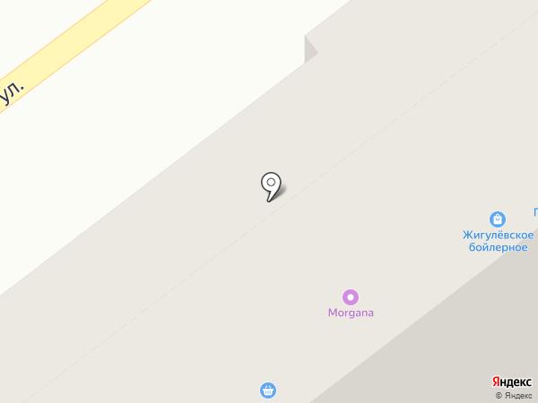 Печенька & Конфетка на карте Самары