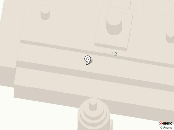 Храм в честь Покрова Пресвятой Богородицы на карте Мирного