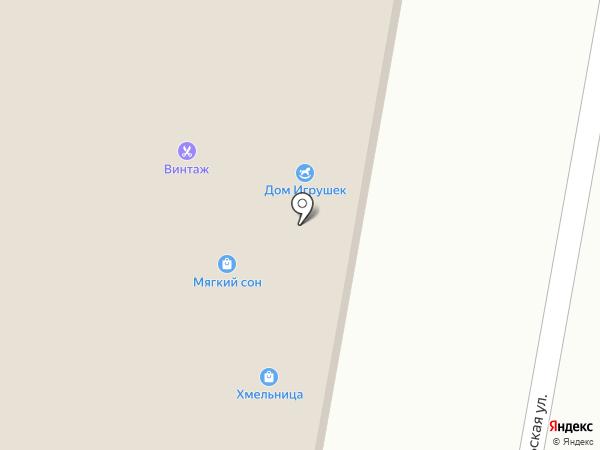 Винтаж на карте Мирного