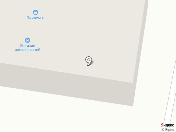 Салон ритуальных услуг на карте Мирного