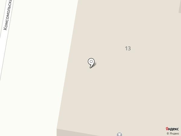 Опорный пункт полиции №33 на карте Мирного