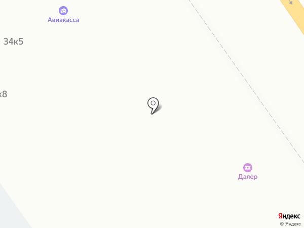 Киоск по продаже мороженого на карте Самары