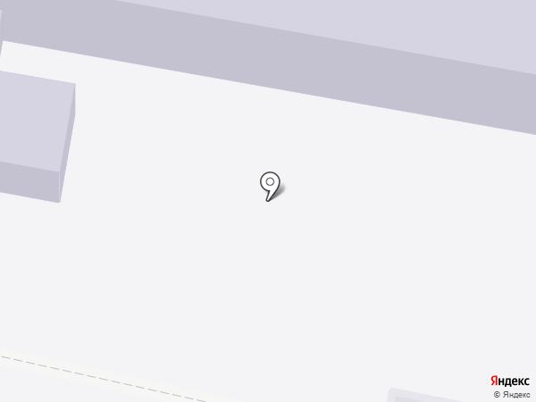 Мирновская средняя общеобразовательная школа на карте Мирного