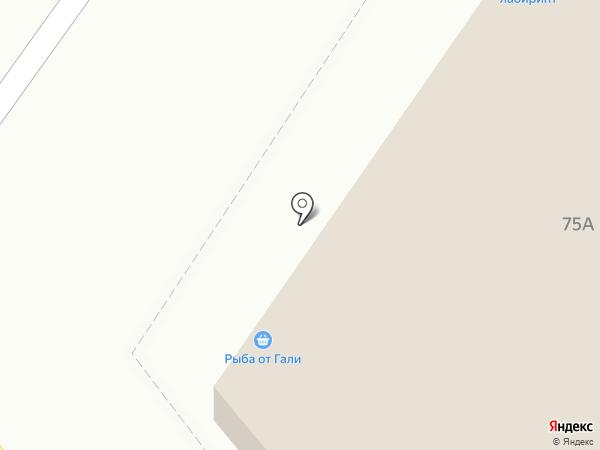 Лабиринт на карте Самары