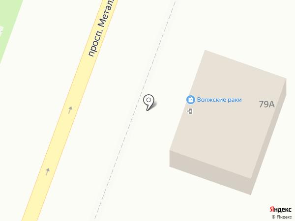 Булочная на карте Самары