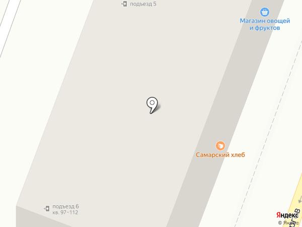 Самарский ювелир на карте Самары