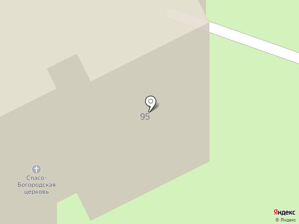 Спасо-Богородский храм на карте Самары