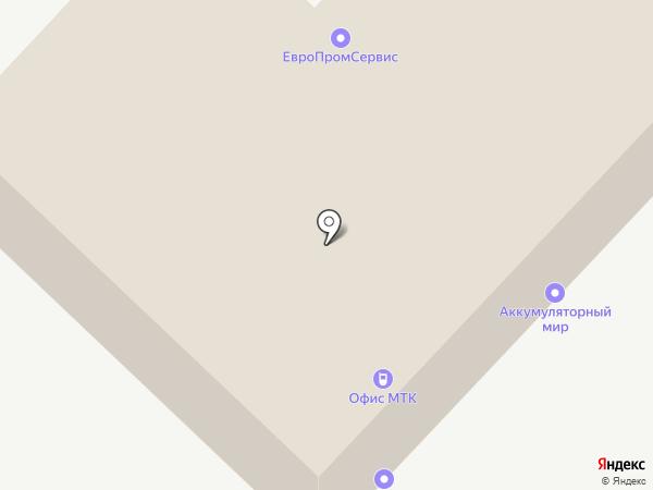 Строитель, НОУ на карте Самары