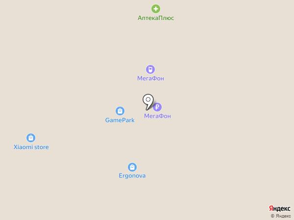 Мегафон ритейл на карте Самары