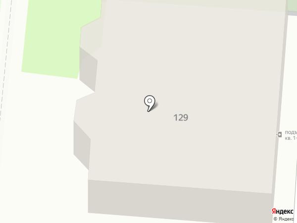 Зубчаниновка на карте Самары