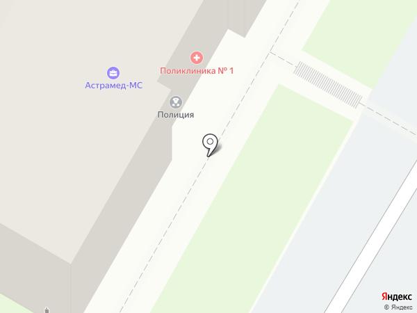 Поликлиника №14 на карте Самары