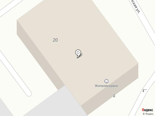 Жилкомсервис на карте Новосемейкино