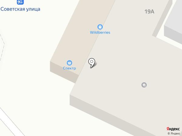 Продуктовый магазин на карте Новосемейкино