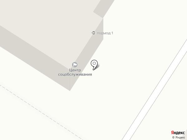 Центр социального обслуживания граждан пожилого возраста и инвалидов Красноярского района на карте Новосемейкино