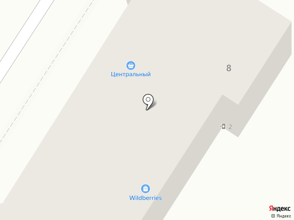Трида на карте Новосемейкино