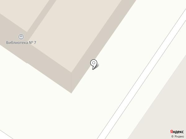 Библиотека №7 на карте Новосемейкино