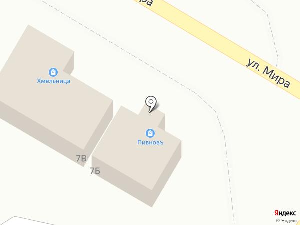 Пивнов на карте Новосемейкино