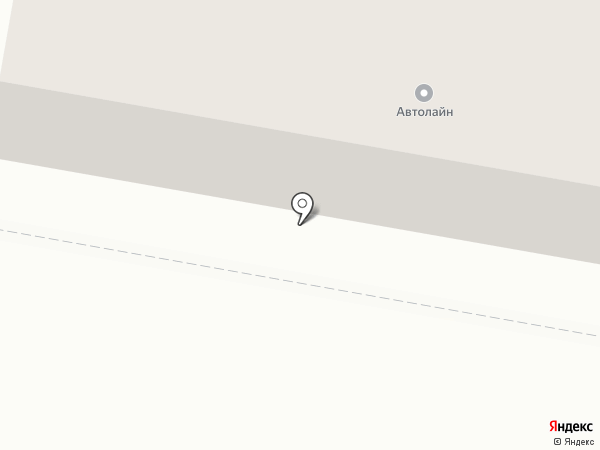 Автолайн на карте Петры Дубравы