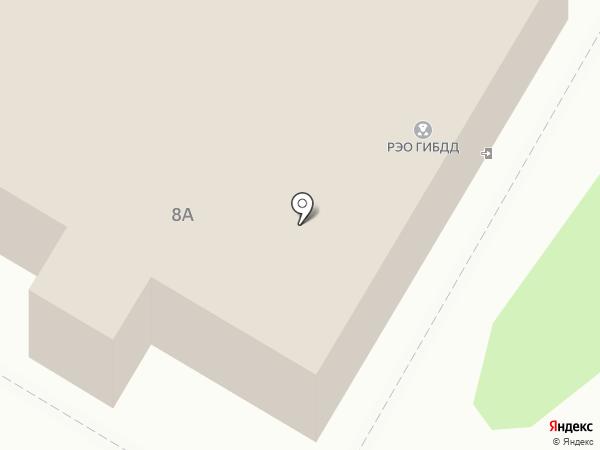 РЭО ГИБДД на карте Новосемейкино