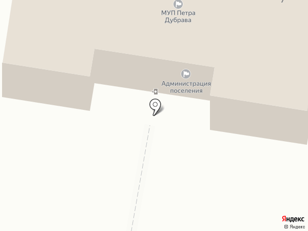 Администрация на карте Петры Дубравы