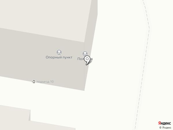 Участковый пункт полиции №1 на карте Петры Дубравы