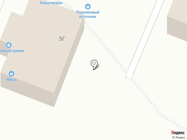 Родниковый источник на карте Смышляевки