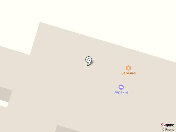 Заречье на карте Красного Яра