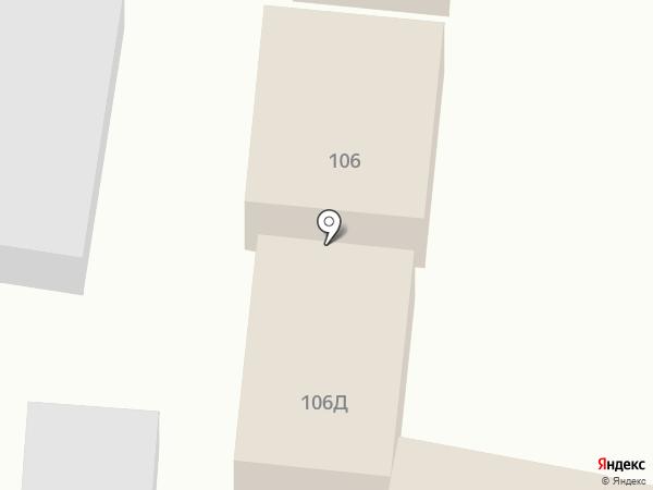 Киоск фастфудной продукции на карте Красного Яра