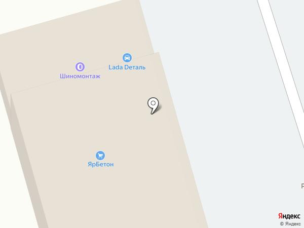 ЯрСтройМет на карте Красного Яра