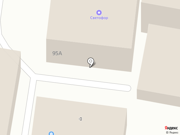 Ультра на карте Красного Яра