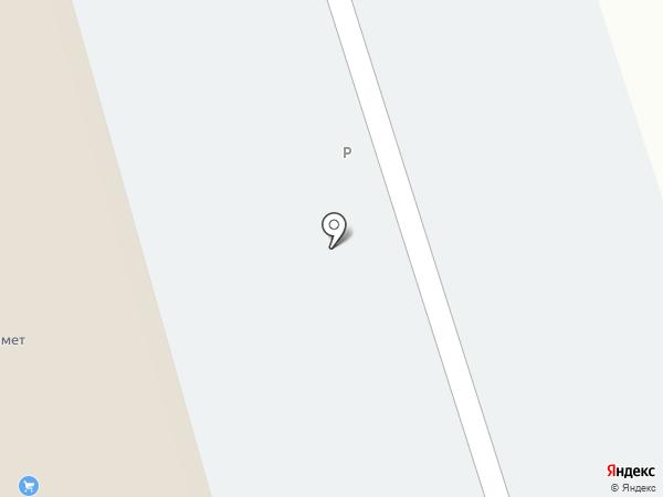 Автокомплекс на карте Красного Яра