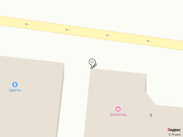 Цветочный магазин на карте Красного Яра