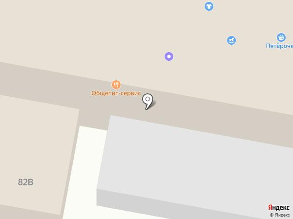 Московская ярмарка на карте Красного Яра