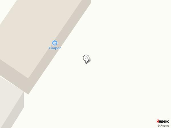 Сварог на карте Смышляевки