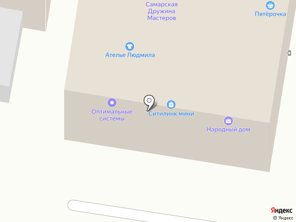 Народный Дом-Ломбард на карте Красного Яра