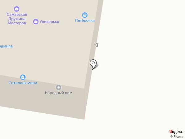 Самарская дружина мастеров на карте Красного Яра