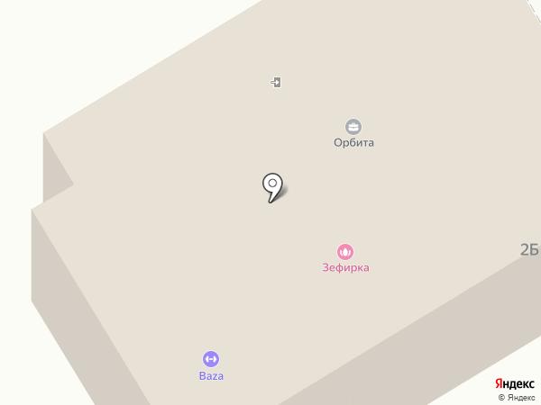 Вертикаль на карте Смышляевки