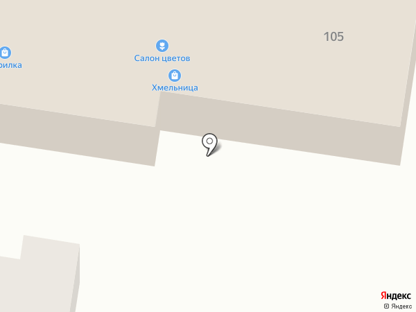 Оптик-Сервис на карте Красного Яра