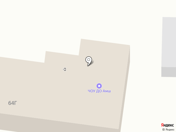 Автомотошкола, ЧОУ ДПО на карте Красного Яра