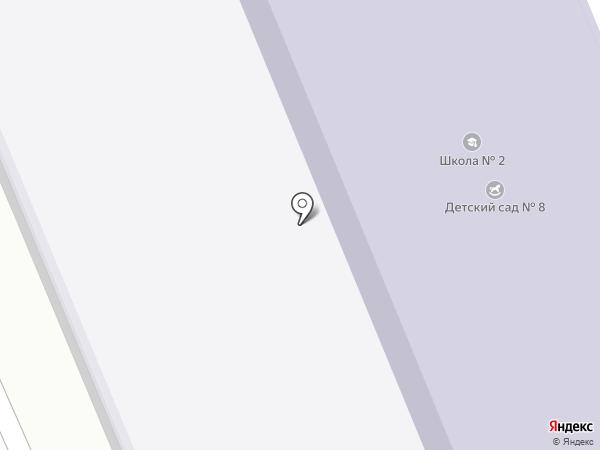 Основная общеобразовательная школа №2 с дошкольным отделением на карте Смышляевки