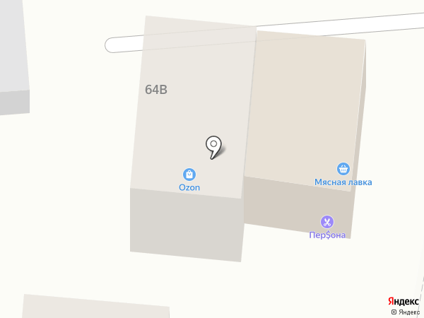 Мидия на карте Красного Яра
