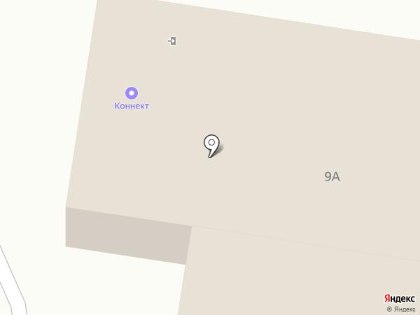 Коннект на карте Красного Яра