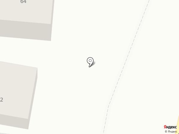 ДЭКЗИСТ на карте Красного Яра