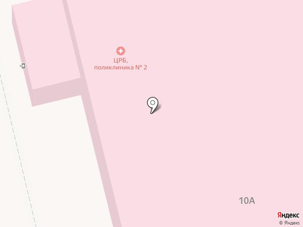 Поликлиника на карте Смышляевки