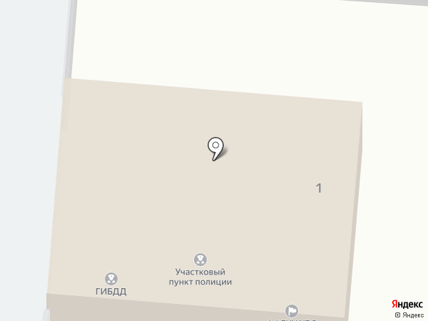 Отдел вневедомственной охраны по Красноярскому району, Управление вневедомственной охраны на карте Красного Яра