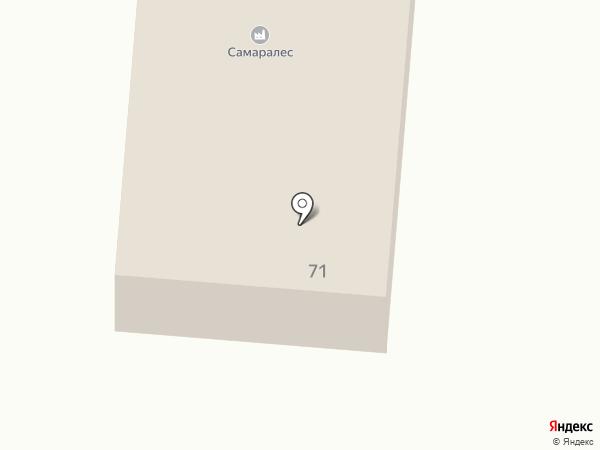 Самаралес на карте Красного Яра