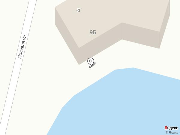 Золотая рыбка на карте Красного Яра