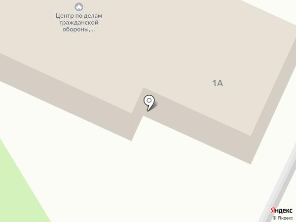 Пожарная часть №110 на карте Красного Яра
